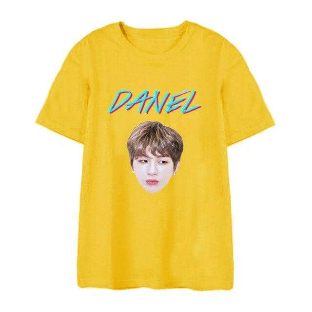 Kpop Newest Kpop WANNA ONE Kang Daniel 2019 Album COLOR ON ME print t Shirt Casual Loose women Tshirt summer Harajuku Short Sleeve tees Tops that you'll fall in love with. At an affordable price at KPOPSHOP, We sell a variety of Kpop WANNA ONE Kang Daniel 2019 Album COLOR ON ME print t Shirt Casual Loose women Tshirt summer Harajuku Short Sleeve tees Tops with Free Shipping.