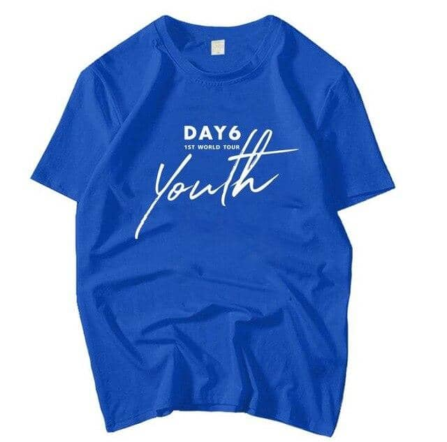 Kpop Newest Kpop day6 1st world tour youth concert same printing o neck t shirt summer style unisex short sleeve day6 loose t-shirt 6 colors that you'll fall in love with. At an affordable price at KPOPSHOP, We sell a variety of Kpop day6 1st world tour youth concert same printing o neck t shirt summer style unisex short sleeve day6 loose t-shirt 6 colors with Free Shipping.