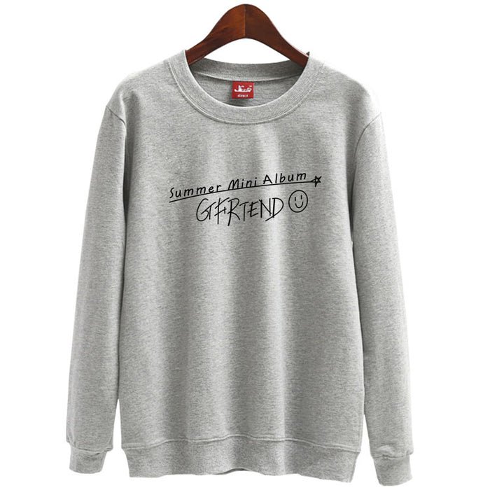 Kpop gfriend mini album cover same pullover 2 styles unisex thin Sweatshirtpring autumn - Kpopshop