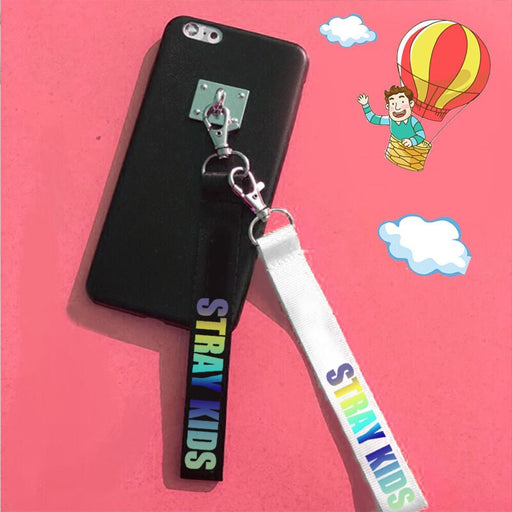 Kpop Stray kids keychains cute creative phone pendant hang rope fashion stray kids Keychains - Kpopshop