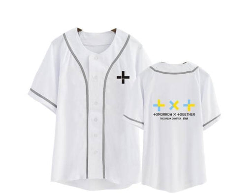 Kpop txt the dream chapter star same member name baseball unisex style t-shirt