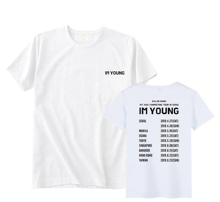 Kpop Newest Kpop wanna one Bae JinYoung concert i'm young same city names printing o neck t shirt unisex summer short sleeve t-shirt that you'll fall in love with. At an affordable price at KPOPSHOP, We sell a variety of Kpop wanna one Bae JinYoung concert i'm young same city names printing o neck t shirt unisex summer short sleeve t-shirt with Free Shipping.