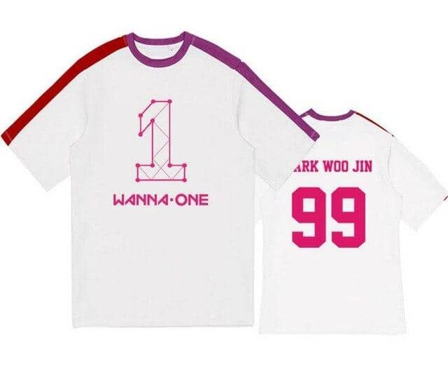 Kpop Newest Kpop wanna one member name printing o neck short sleeve t-shirt summer fashion unisex patchwork loose t shirt lovers tees that you'll fall in love with. At an affordable price at KPOPSHOP, We sell a variety of Kpop wanna one member name printing o neck short sleeve t-shirt summer fashion unisex patchwork loose t shirt lovers tees with Free Shipping.