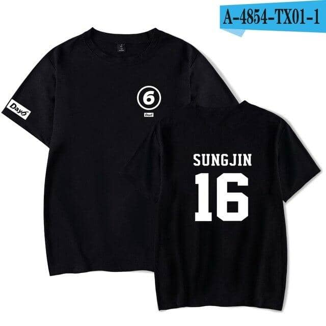 Kpop Newest kpop Day6 fashion T-shirts print fashion hip hop couple men women t shirt casual tee shirt short sleeve t-shirt top that you'll fall in love with. At an affordable price at KPOPSHOP, We sell a variety of kpop Day6 fashion T-shirts print fashion hip hop couple men women t shirt casual tee shirt short sleeve t-shirt top with Free Shipping.