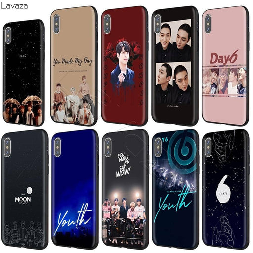 Kpop Newest DAY6 1ST World Tour Youth Case for iPhone 11 Pro XS Max XR X 8 7 6 6S Plus 5 5s se that you'll fall in love with. At an affordable price at KPOPSHOP, We sell a variety of DAY6 1ST World Tour Youth Case for iPhone 11 Pro XS Max XR X 8 7 6 6S Plus 5 5s se with Free Shipping.