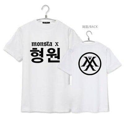 Kpop Newest MONSTA X KPOP Summer 2019 new Cotton Round neck men women coat Korean version black white letter printing Short-sleeved T-shirt that you'll fall in love with. At an affordable price at KPOPSHOP, We sell a variety of MONSTA X KPOP Summer 2019 new Cotton Round neck men women coat Korean version black white letter printing Short-sleeved T-shirt with Free Shipping.