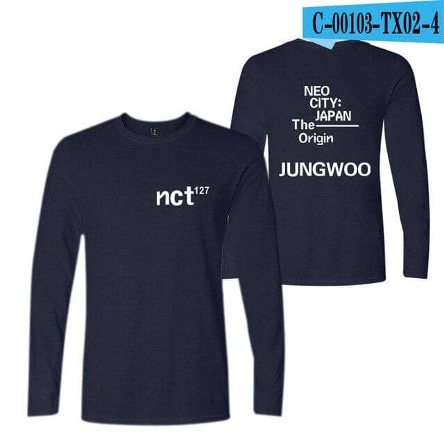 Kpop Newest NCT 127 Long Sleeve Hoodies T shirt the New Album Casual Fashion Kpop tshirt T-shirt Spring Summer Soft T shirts Tops Clothes that you'll fall in love with. At an affordable price at KPOPSHOP, We sell a variety of NCT 127 Long Sleeve Hoodies T shirt the New Album Casual Fashion Kpop tshirt T-shirt Spring Summer Soft T shirts Tops Clothes with Free Shipping.