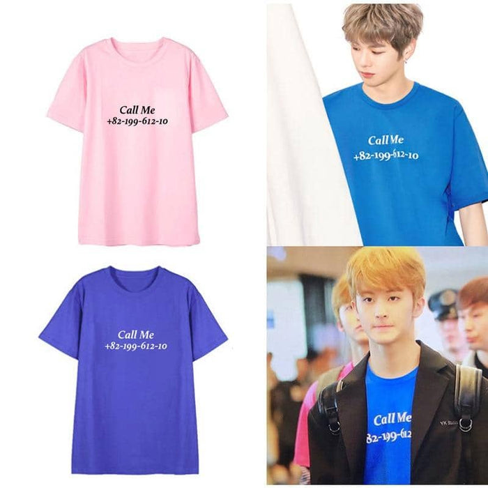 Kpop Newest NCT 127 U MARK The Same Paragraph Korean Students Men And Women Short-sleeved Cotton T-shirt Loose Casual Dropshopping that you'll fall in love with. At an affordable price at KPOPSHOP, We sell a variety of NCT 127 U MARK The Same Paragraph Korean Students Men And Women Short-sleeved Cotton T-shirt Loose Casual Dropshopping with Free Shipping.