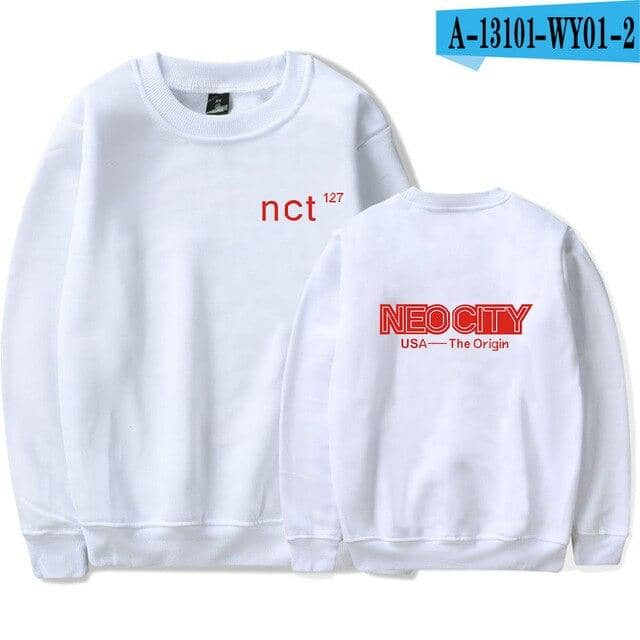 Nct 127 Hoodie women/men women's Pullovers Coat Girls Female