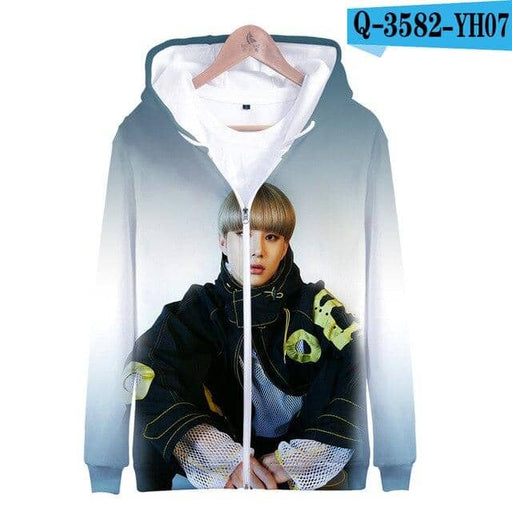 Kpop Newest Nct 127 Kpop hip hop 3D men's casual sweatshirt zipper jacket Nct 127 Kpop men's new sweatshirt zipper jacket trend that you'll fall in love with. At an affordable price at KPOPSHOP, We sell a variety of Nct 127 Kpop hip hop 3D men's casual sweatshirt zipper jacket Nct 127 Kpop men's new sweatshirt zipper jacket trend with Free Shipping.