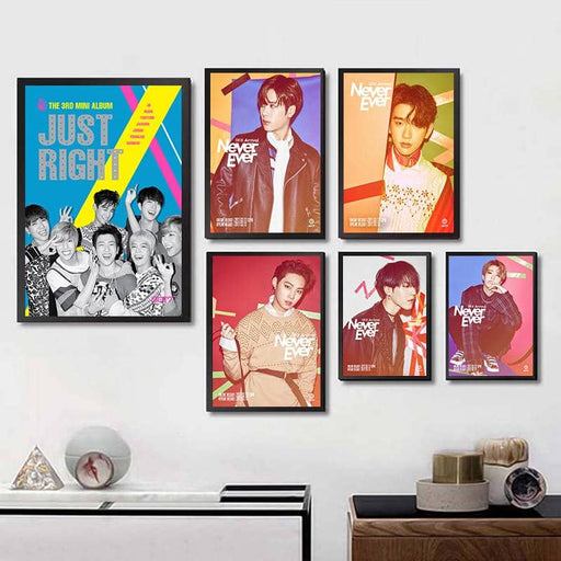 Kpop Newest New GOT 7 Kpop Posters Clear Image Prints White Cardboard Wall Stickers Home Decor GOT7 Art Poster Gift room decoration that you'll fall in love with. At an affordable price at KPOPSHOP, We sell a variety of New GOT 7 Kpop Posters Clear Image Prints White Cardboard Wall Stickers Home Decor GOT7 Art Poster Gift room decoration with Free Shipping.