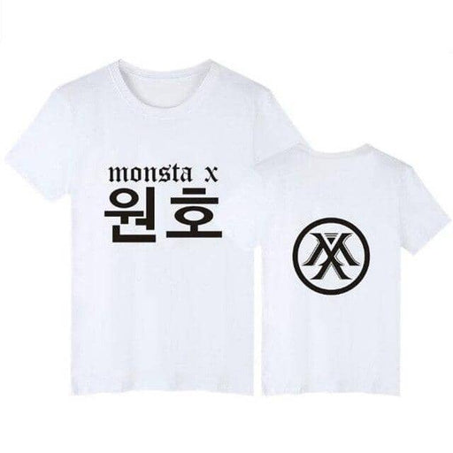 Kpop Newest Plus Size XXS-4XL Korean Fashion Summer T Shirt Women Tshirt KPOP MONSTA X T-Shirt Women Tops Tee Shirt Femme Tumblr Clothing that you'll fall in love with. At an affordable price at KPOPSHOP, We sell a variety of Plus Size XXS-4XL Korean Fashion Summer T Shirt Women Tshirt KPOP MONSTA X T-Shirt Women Tops Tee Shirt Femme Tumblr Clothing with Free Shipping.