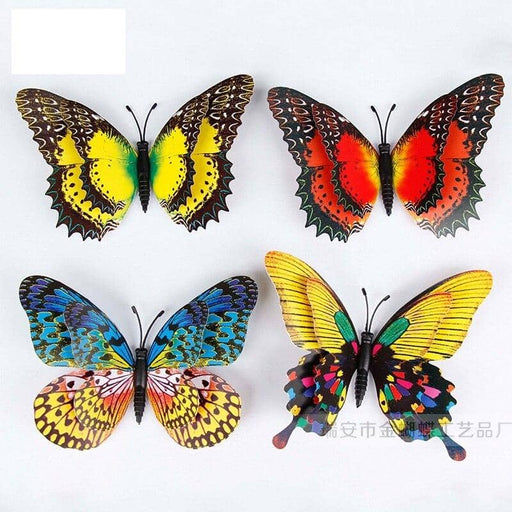 Kpop Newest Random Simulation Butterfly 3D Sticker PT15+11CM Double Suit Instagram Kpop Stickers on The Fridge Creative Home Art Decorations that you'll fall in love with. At an affordable price at KPOPSHOP, We sell a variety of Random Simulation Butterfly 3D Sticker PT15+11CM Double Suit Instagram Kpop Stickers on The Fridge Creative Home Art Decorations with Free Shipping.