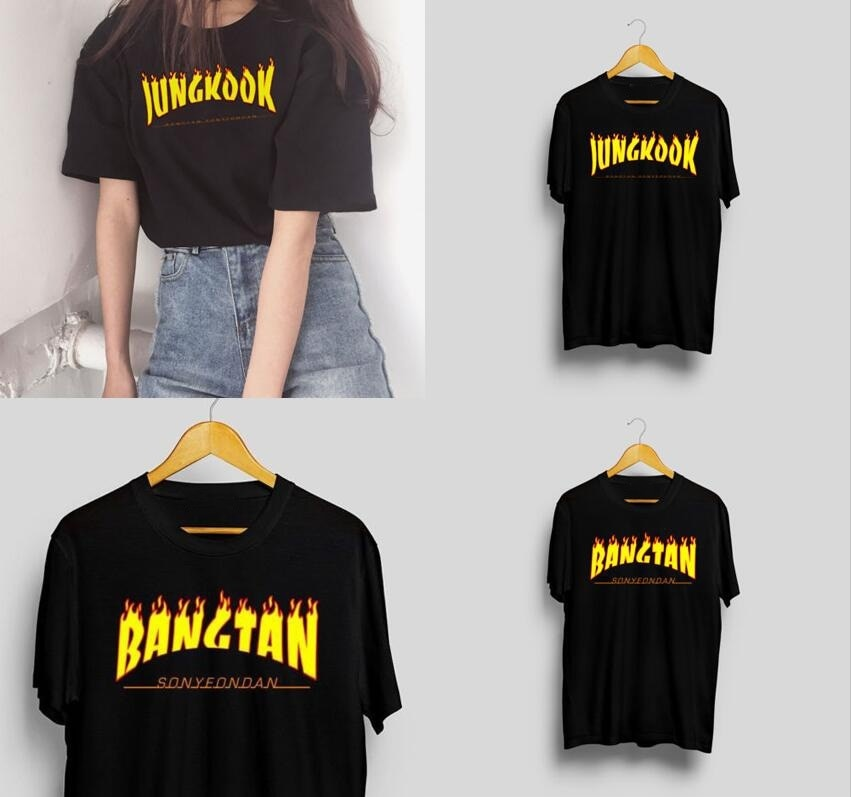 Kpop Newest BANGTAN  fashion Kpop Bangtan Jungkook Thrasher Style T-shirt Kpop Bangtan Boys/Kpop Merch that you'll fall in love with. At an affordable price at KPOPSHOP, We sell a variety of BANGTAN  fashion Kpop Bangtan Jungkook Thrasher Style T-shirt Kpop Bangtan Boys/Kpop Merch with Free Shipping.