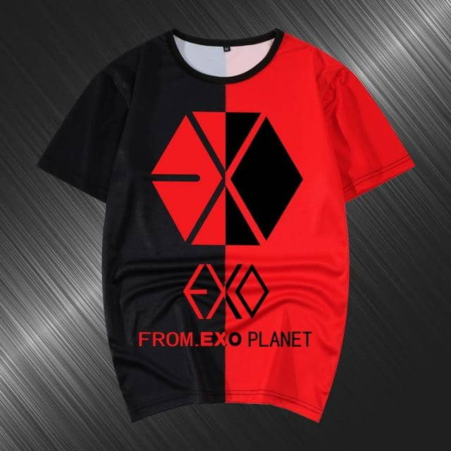 Kpop Newest Summer T-shirt Women Harajuku Kpop EXO Luhan the same Casual tshirt Short Sleeve O-Neck splice Tee shirt female Bottoming Tops that you'll fall in love with. At an affordable price at KPOPSHOP, We sell a variety of Summer T-shirt Women Harajuku Kpop EXO Luhan the same Casual tshirt Short Sleeve O-Neck splice Tee shirt female Bottoming Tops with Free Shipping.