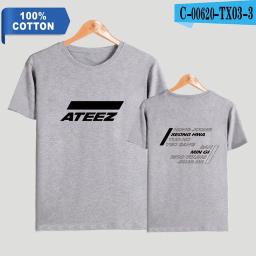 explosion 100%  ATEEZ Women/Men  Kpops T-Shirt  Plus Size - Kpopshop