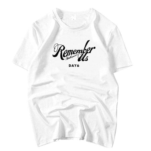 Kpop Newest Summer style day6 album remember us youth part2 same printing o neck short sleeve t shirt kpop unisex loose t-shirt 5 colors that you'll fall in love with. At an affordable price at KPOPSHOP, We sell a variety of Summer style day6 album remember us youth part2 same printing o neck short sleeve t shirt kpop unisex loose t-shirt 5 colors with Free Shipping.