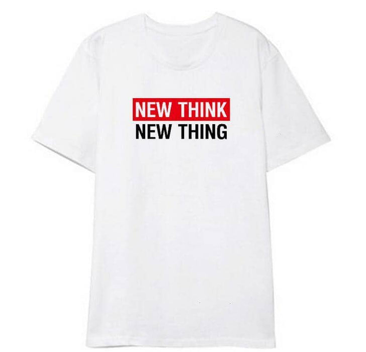 Kpop Newest Summer style unisex new thing new think printing fashion t shirt for men women kpop wanna one same o neck short sleeve t-shirt that you'll fall in love with. At an affordable price at KPOPSHOP, We sell a variety of Summer style unisex new thing new think printing fashion t shirt for men women kpop wanna one same o neck short sleeve t-shirt with Free Shipping.