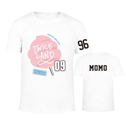 Kpop Newest TWICE Twiceland T-shirt Same Paragraph Short-sleeved Men and Women Lovers Dropshipping that you'll fall in love with. At an affordable price at KPOPSHOP, We sell a variety of TWICE Twiceland T-shirt Same Paragraph Short-sleeved Men and Women Lovers Dropshipping with Free Shipping.