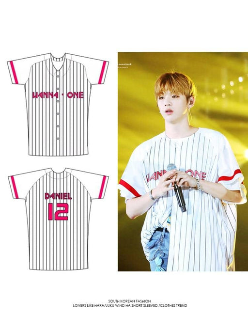 Kpop Newest WANNA ONE Baseball Uniform T shirt Summer Kpop BF Hip Hop Befree Men Women Top Preppy Style Short Sleeve O-neck Plus Size Jersey that you'll fall in love with. At an affordable price at KPOPSHOP, We sell a variety of WANNA ONE Baseball Uniform T shirt Summer Kpop BF Hip Hop Befree Men Women Top Preppy Style Short Sleeve O-neck Plus Size Jersey with Free Shipping.