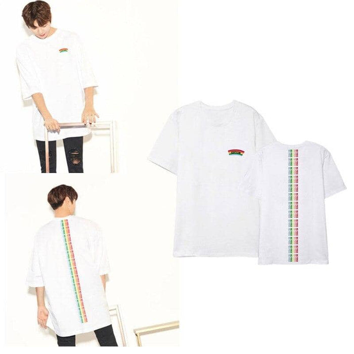Kpop Newest Wanna ONE Ginger Daniel Related Products Celebrity Style Korean-style Printed Refreshing Simple Versatile Men And Women T-shirt that you'll fall in love with. At an affordable price at KPOPSHOP, We sell a variety of Wanna ONE Ginger Daniel Related Products Celebrity Style Korean-style Printed Refreshing Simple Versatile Men And Women T-shirt with Free Shipping.