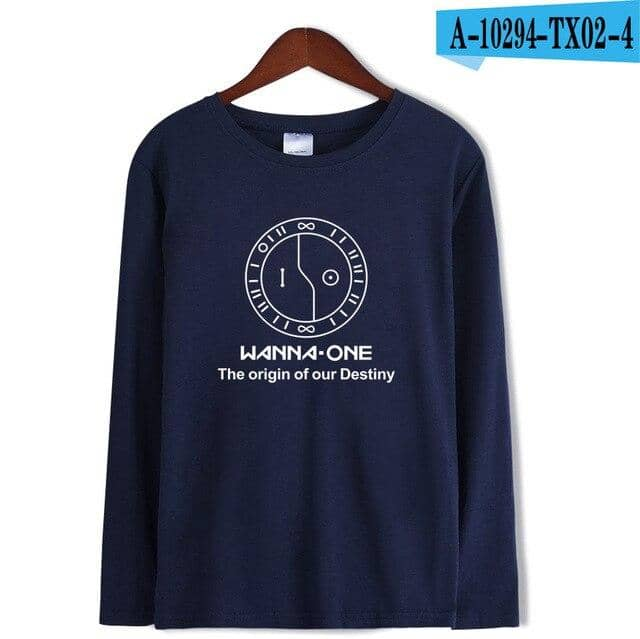 Kpop Newest Wanna One T-shirts Kpop Loose Long Sleeve Hip Hop Casual Tops T-shirts Fashion Style Printed Streetwear Tee Shirts Wanna One that you'll fall in love with. At an affordable price at KPOPSHOP, We sell a variety of Wanna One T-shirts Kpop Loose Long Sleeve Hip Hop Casual Tops T-shirts Fashion Style Printed Streetwear Tee Shirts Wanna One with Free Shipping.