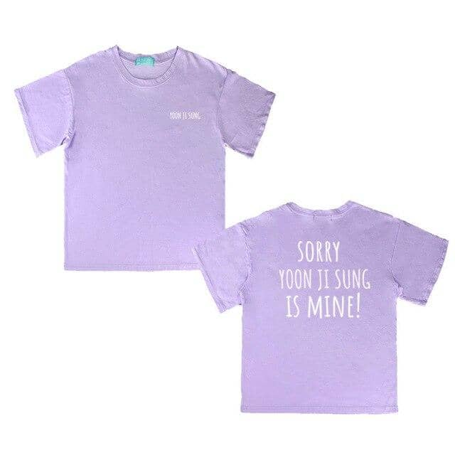Kpop Newest Wanna one KPOP Korean version summer Short-sleeved T-shirt Pure color fashion Simple purple Letter printing Loose Women Lovers that you'll fall in love with. At an affordable price at KPOPSHOP, We sell a variety of Wanna one KPOP Korean version summer Short-sleeved T-shirt Pure color fashion Simple purple Letter printing Loose Women Lovers with Free Shipping.