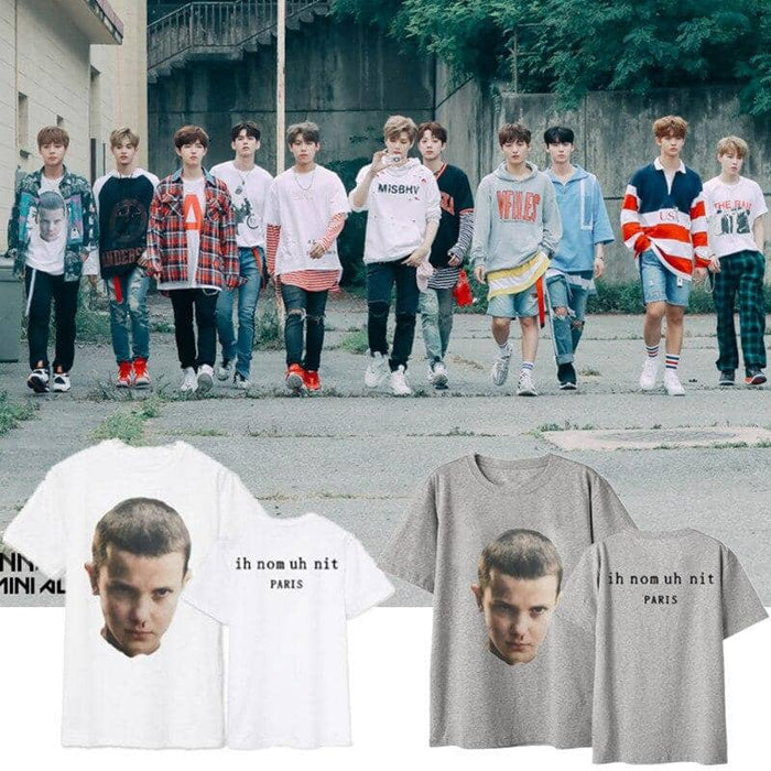 Kpop Newest Wanna one Park Zhi-hsun the Korean version of the same pair of T-shirts summer round collar loose bf short sleeved women that you'll fall in love with. At an affordable price at KPOPSHOP, We sell a variety of Wanna one Park Zhi-hsun the Korean version of the same pair of T-shirts summer round collar loose bf short sleeved women with Free Shipping.