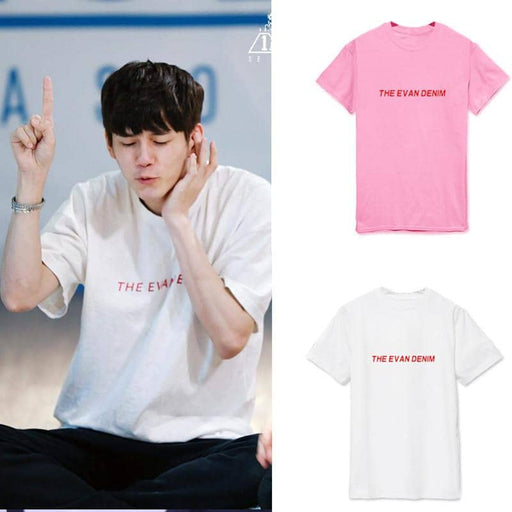 Kpop Newest Wanna one Yongcheng Yu loose letter short sleeved T-shirts for men and women in summe T-Shirts that you'll fall in love with. At an affordable price at KPOPSHOP, We sell a variety of Wanna one Yongcheng Yu loose letter short sleeved T-shirts for men and women in summe T-Shirts with Free Shipping.