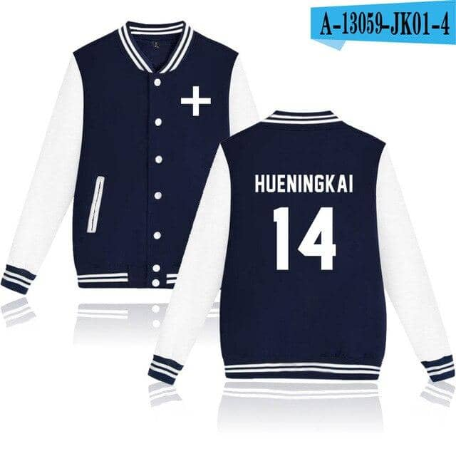 Kpop Newest Women/Men TXT Harajuku hoodies Sweatshirts  Winter Casual Baseball jacket Modis Kpop Plus Size XXXXL k-pop Streatwear Tops that you'll fall in love with. At an affordable price at KPOPSHOP, We sell a variety of Women/Men TXT Harajuku hoodies Sweatshirts  Winter Casual Baseball jacket Modis Kpop Plus Size XXXXL k-pop Streatwear Tops with Free Shipping.