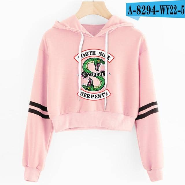 Kpop Newest Women sexy crop top hoodies RIVERDALE Southside Serpent Print harajuku Spring hot sale casual hoodies sweatshirts plus size that you'll fall in love with. At an affordable price at KPOPSHOP, We sell a variety of Women sexy crop top hoodies RIVERDALE Southside Serpent Print harajuku Spring hot sale casual hoodies sweatshirts plus size with Free Shipping.