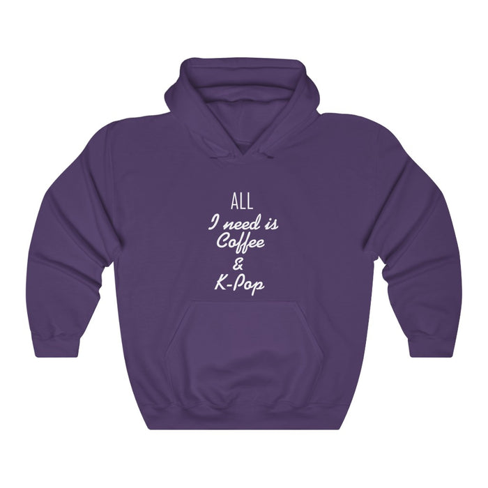 All I Need Is Colle & K-Pop Hoodie - Trendy Winter Kpop Hoodies - Kpop Hooded Sweater