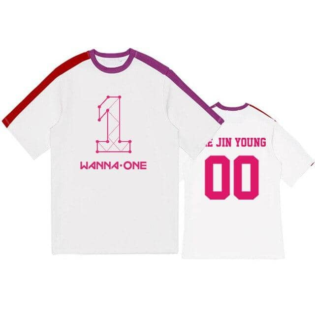 Kpop Newest kpop WANNA ONE concert album Same paragraph Short sleeve t shirt Aid Fight song clothes Korean clothes Korean clothes Sweatshirt that you'll fall in love with. At an affordable price at KPOPSHOP, We sell a variety of kpop WANNA ONE concert album Same paragraph Short sleeve t shirt Aid Fight song clothes Korean clothes Korean clothes Sweatshirt with Free Shipping.
