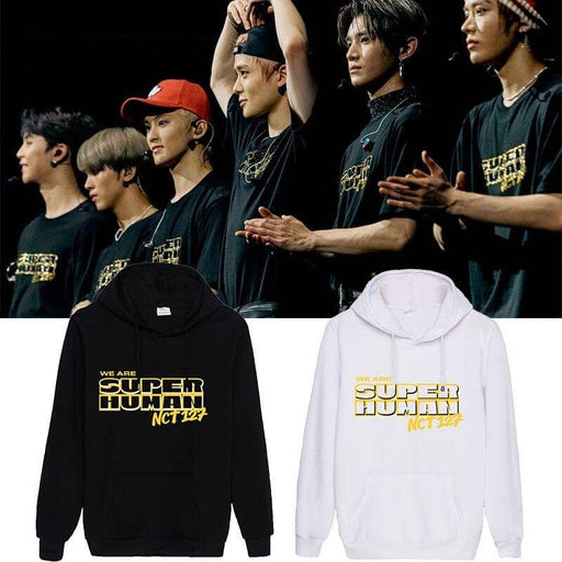 Kpop Newest kpop nct 127 Album We are superhuman Aid printing pullover Sweatshirt kpop Korean style men and women harajuku hoodies coat that you'll fall in love with. At an affordable price at KPOPSHOP, We sell a variety of kpop nct 127 Album We are superhuman Aid printing pullover Sweatshirt kpop Korean style men and women harajuku hoodies coat with Free Shipping.