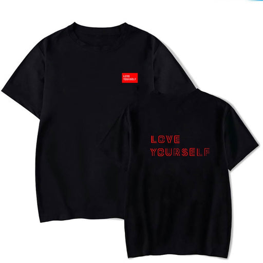 Kpop Newest Love Yourself  K-pop Shirt, KPOP JUNG KOOK Hoodie Love Yourself Pullover Bangtan Boys hoodies sweatshirt that you'll fall in love with. At an affordable price at KPOPSHOP, We sell a variety of Love Yourself  K-pop Shirt, KPOP JUNG KOOK Hoodie Love Yourself Pullover Bangtan Boys hoodies sweatshirt with Free Shipping.