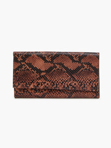 Able Debre Wallet - Saddle Snake