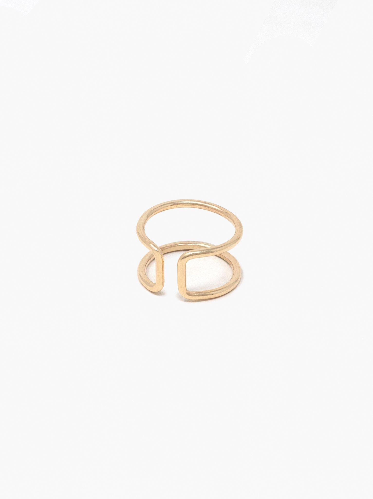 Able Cuff Ring - Gold