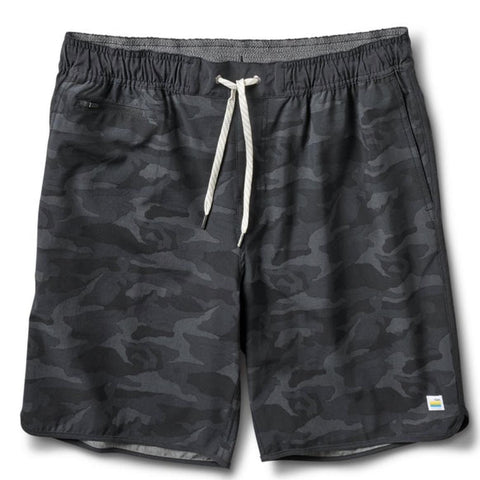 Vuori Banks Short Black Camo