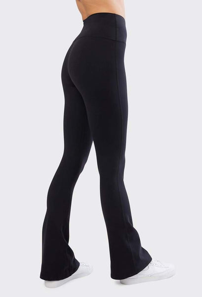 Splits 59 High Waist Raquel Flared Legging - Black