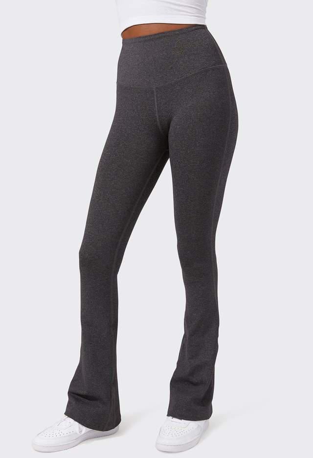 Splits 59 High Waist Raquel Flared Legging - Heather Grey