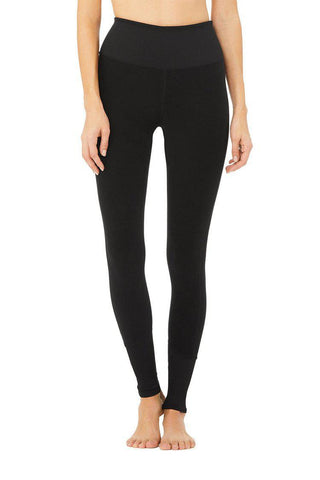 Alo High Waist Lounge Legging - Black