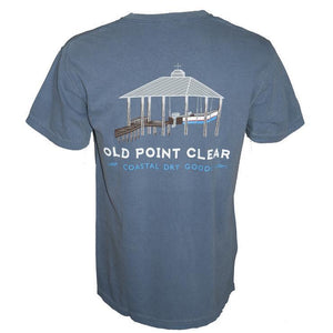 Old Point Clear Lifted Denim T-shirt