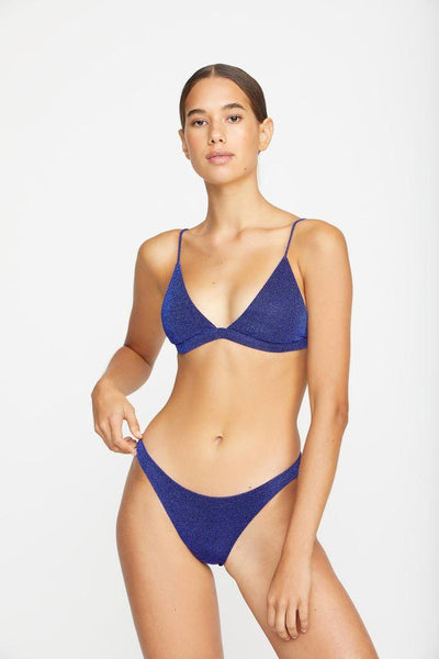 Mikoh Ofu Bottom - Lurex Cobalt
