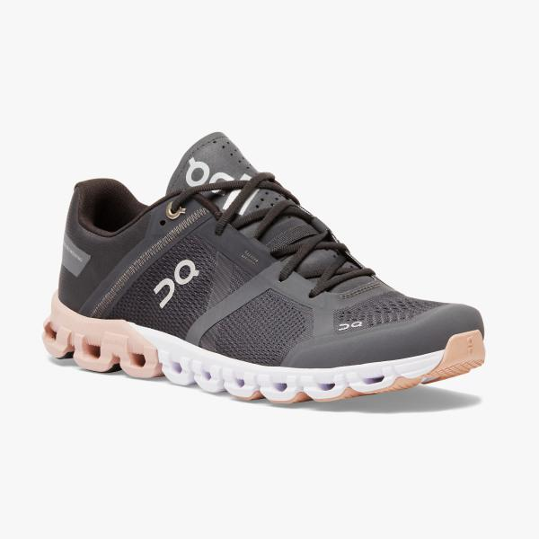 On Running Cloudflow Women's Shoe Rock/Rose