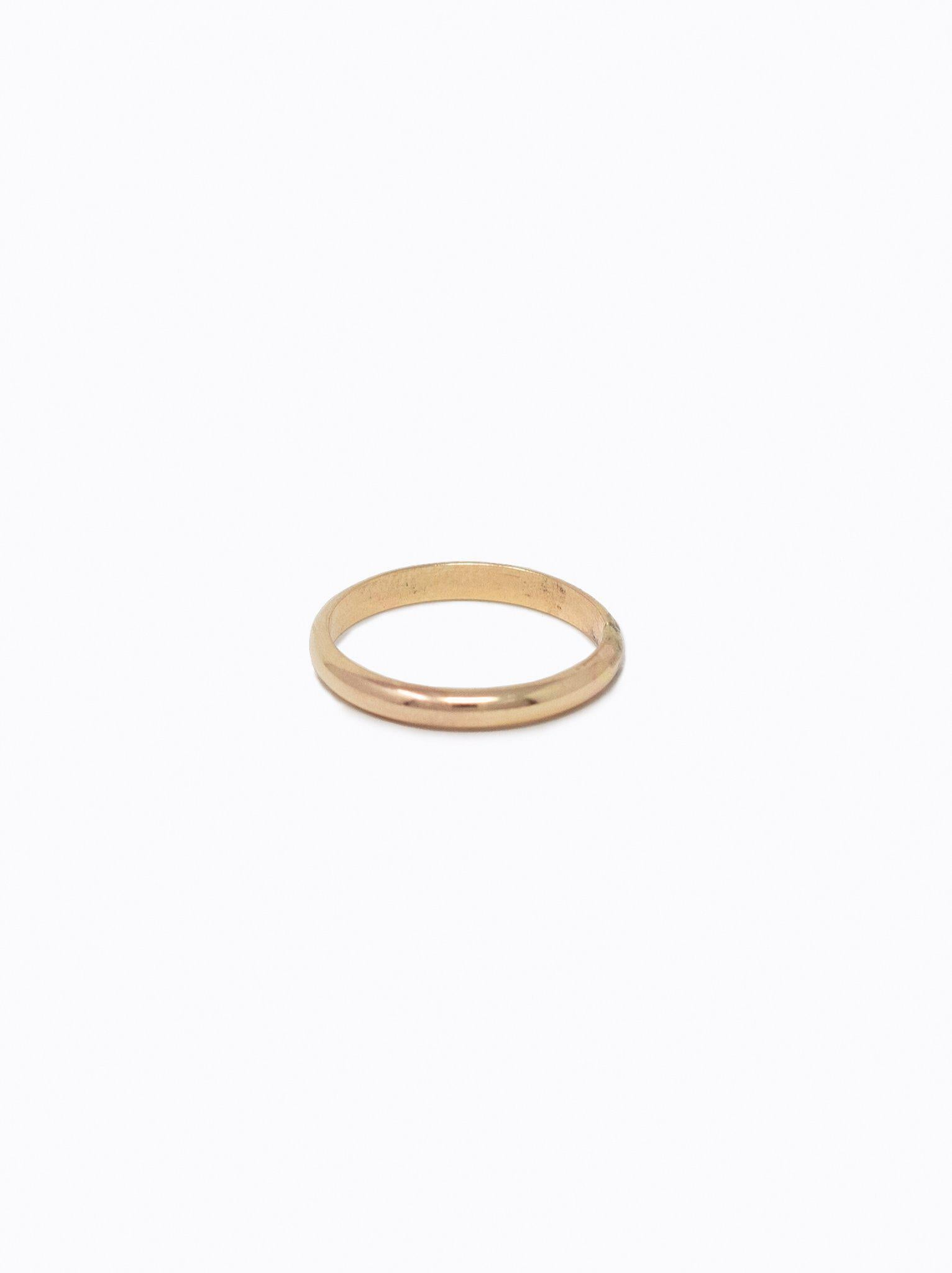 Able Dome Ring - Gold