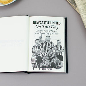 Personalised Newcastle United On This Day Football Book