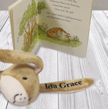 Load image into Gallery viewer, Guess How Much I Love You Book & Personalised Toy Gift Set