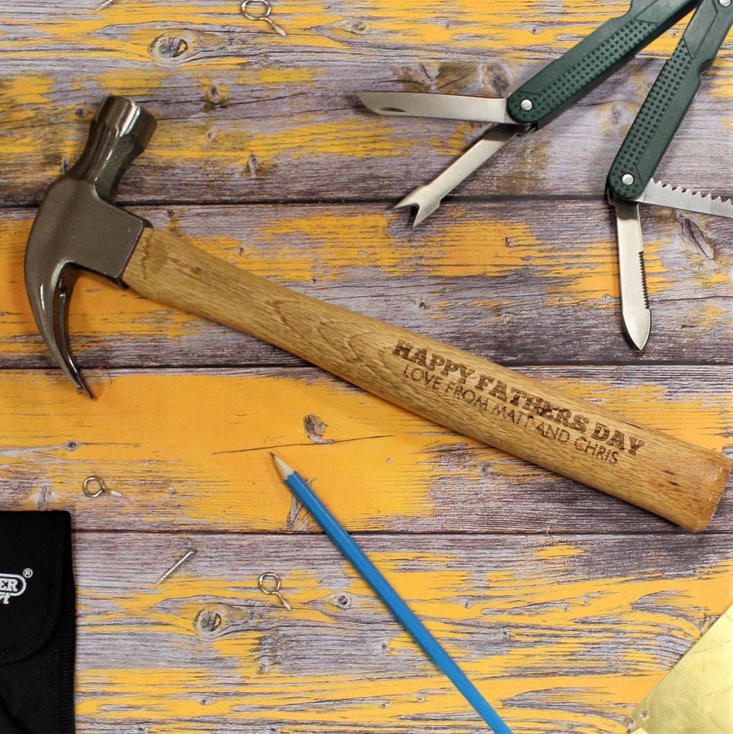 Personalised Draper Hammer - Any Message