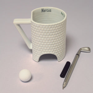 Personalised Novelty Golf Mug Set