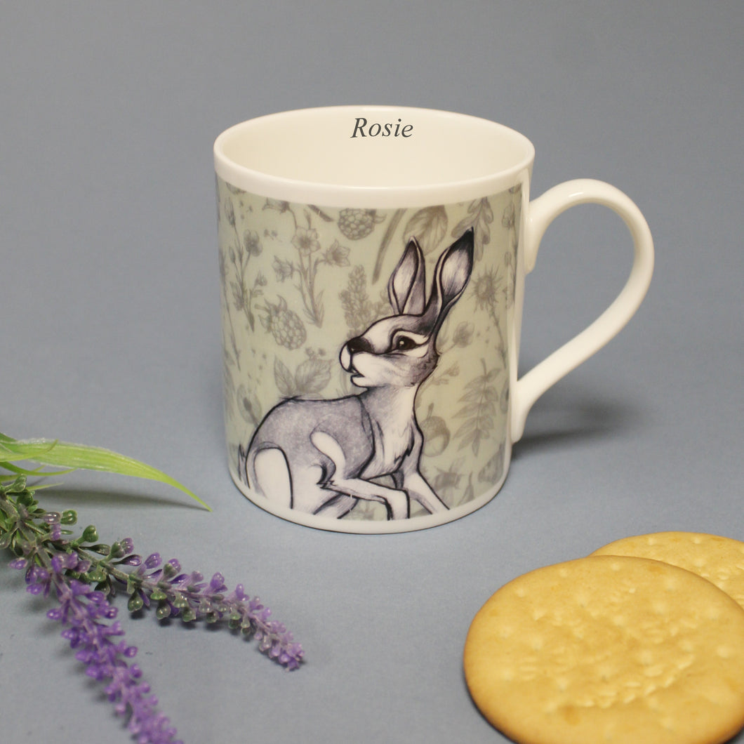 Watership Down Chunky Personalised Balmoral Mug - Fiver